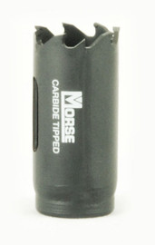 "MK Morse MHST15 - Carbide Tipped Hole Saw 15/16"""