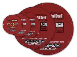 "MK Morse CSD4500C - Diamond Circular Saw Blade for Metal 4.5"", 7/8"" - 5/8"" Arbor"