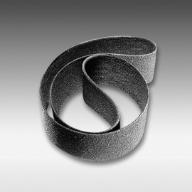 "Sia Abrasives - 3""W x 21""L Sanding Belt 600 Grit Non-Woven, Grey"