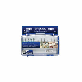 Dremel 689-01 - 11 pc. Carving/Engraving Kit