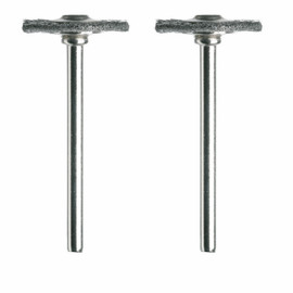 Dremel 428-02 - 3/4 In.. Carbon Steel Brushes (2 Pack)