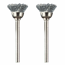 Dremel 442-02 - 1/2 In. Carbon Steel Brushes