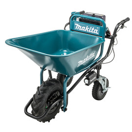 Makita DCU180ZX2 - 18V x2 LXT Power-Assisted Brushless Wheelbarrow with Bucket