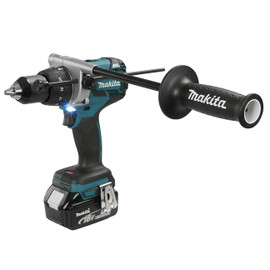 "Makita DHP481RTE - 1/2"" Cordless Hammer Drill / Driver with Brushless Motor"