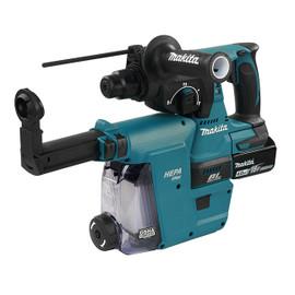 "Makita DHR242RMEW - 15/16"" Cordless Rotary Hammer with Brushless Motor"