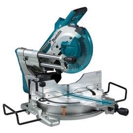 "Makita DLS111Z - 10"" Cordless Sliding Compound Mitre Saw with Brushless Motor, Laser & AWS"