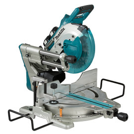 "Makita DLS112Z - 10"" Cordless Sliding Compound Mitre Saw with Brushless Motor & Laser"