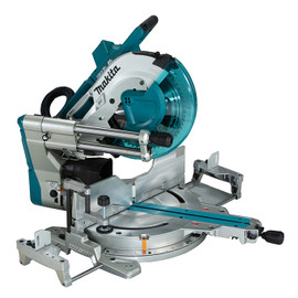 "Makita DLS211Z - 12"" Cordless Sliding Compound Mitre Saw with Brushless Motor, Laser & AWS"