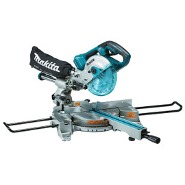 "Makita DLS714Z - 7-1/2"" Cordless Dual Sliding Compound Mitre Saw with Brushless Motor"