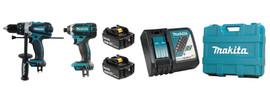 Makita DLX2005T - 18V (5.0 Ah) LXT 2 Tool Combo Kit