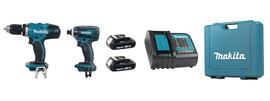 Makita DLX2141SY - 18V (Compact) LXT 2 Tool Combo Kit