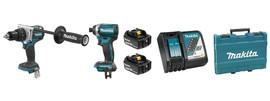 Makita DLX2175T - 18V (5.0 Ah) LXT 2 Tool Combo Kit