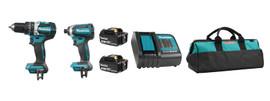 Makita DLX2180S - 18V (3.0 Ah) LXT 2 Tool Combo Kit