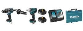 Makita DLX2185T - 18V (5.0 Ah) LXT 2 Tool Combo Kit