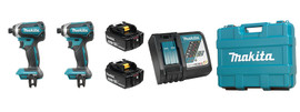 Makita DLX2186M - 18V (4.0 Ah) LXT 2 Tool Combo Kit