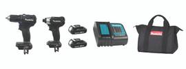Makita DLX2220SYB - 18V (Compact) Sub-Compact 2 Tool Combo Kit