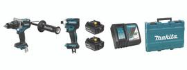Makita DLX2308T - 18V (5.0 Ah) LXT 2 Tool Combo Kit