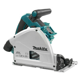 "Makita DSP600ZJ - 6-1/2"" Cordless Plunge Cut Circular Saw with Brushless Motor"