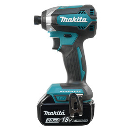 "Makita DTD153RME - 1/4"" Cordless Impact Driver with Brushless Motor"