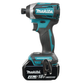 "Makita DTD154RME - 1/4"" Cordless Impact Driver with Brushless Motor"