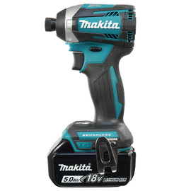 "Makita DTD154RTE - 1/4"" Cordless Impact Driver with Brushless Motor"