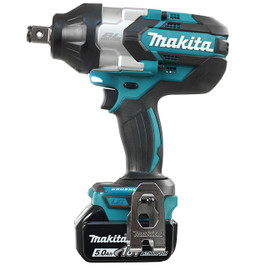 "Makita DTW1001RTE - 3/4"" Cordless High Torque Impact Wrench with Brushless Motor"