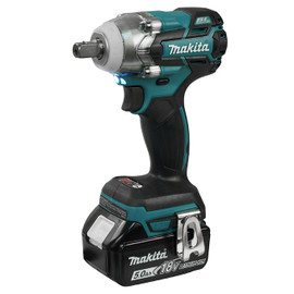 "Makita DTW285RTE - 1/2"" Cordless Impact Wrench with Brushless Motor"
