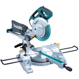 """Makita LS1018LX4 - 10"""" Sliding Compound Mitre Saw With Laser And Mitre Saw Stand"""