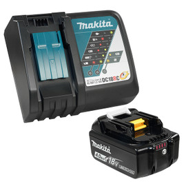 Makita Y-00284 - 18V 4.0Ah Li-Ion Battery & Rapid Charger Kit