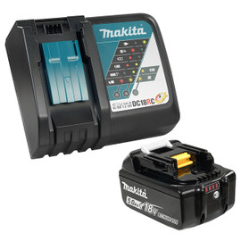 Makita Y-00309 - 18V 5.0Ah Li-Ion Battery & Rapid Charger Kit