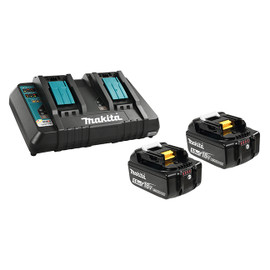 Makita Y-00359 - 18V 2 x 5.0Ah Li-Ion Battery & Dual-Port Charger Kit