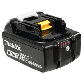 Makita BL1860B - 18V (6.0 Ah) Li-Ion Battery