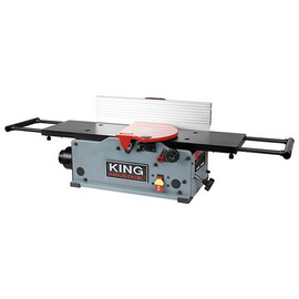 "KING KC-8HJC - 8"" Benchtop jointer with helical cutterhead"