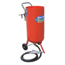 King Canada KSB-20 - 20 Gallon pressure abrasive sandblaster