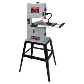 "KING KC-1002C - 10"" Wood bandsaw with stand"