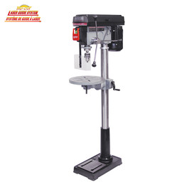 "KING KC-118FC-LS - 17"" Drill press with safety guard and limit switch"
