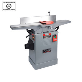 "King Canada KC-65FX - 6"" Jointer with spiral cutterhead"