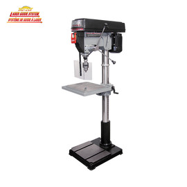 "KING KC-122FC-LS - 22"" Drill press with safety guard and limit switch"