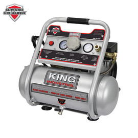 KING KC-2020A - 2 Gallon oil-free air compressor