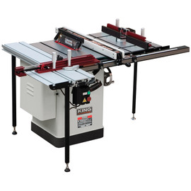 "KING KC-26FXT/i30/DELUXE - 10"" Extreme saw with riving knife/sliding table/router table attachment"
