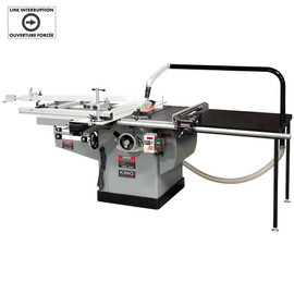 """KING KC-36FXT/360ST - 10"""" Scoring saw with sliding table & outrigger table"""