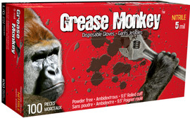 Watson Grease Monkey 5554PF - Grease Monkey 5 MIL Nitrile - Double eXtra Large (2XL)
