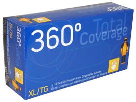 Watson 360° Total Coverage 8888PF - 360 Degree Powderfree Nitrile - Small