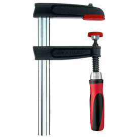 Bessey TGJ2.518+2K - Clamp, woodworking, F-style, 2K handle, replaceable pads, 2.5 In. x 18 In., 600 lb