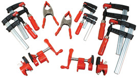 Bessey BGPKIT - Clamp Kit, General Purpose Kit - 10 pc. Clamp set