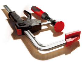 Bessey PG12 - Clamp, one hand, PowerGrip, 2K Handle, 12 In. x 4 In., 1000 lb