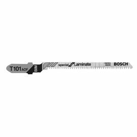 Bosch T101AOF - Jig Saw Blade, T-Shank, 5 pc. 3-1/4 In. 20 TPI Special for Laminate