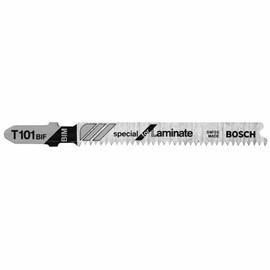 Bosch T101BIF - Jig Saw Blade, T-Shank, 5 pc. 3-1/4 In. 14 TPI Special Laminate Cutting