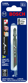Bosch T130DG - Jig Saw Blade, T-Shank, 1 pc. 3-1/4 In. 30 Grit Diamond for Hard Tile