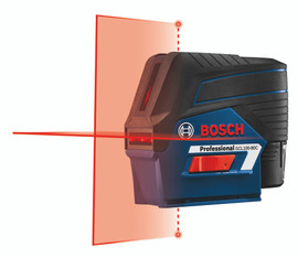 Bosch GCL100-80C - 12V Max Connected Cross-Line Laser with Plumb Points